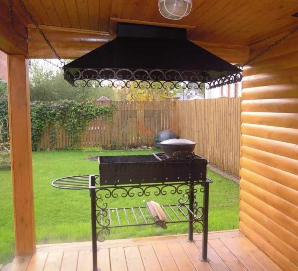 Фото зонтов над барбекю строительство барбекю из кирпича с казаном