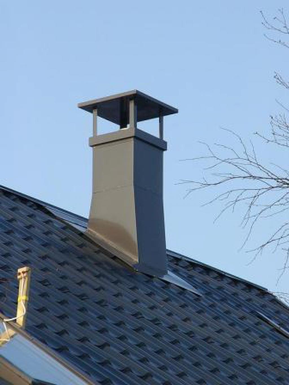 Объединить дымоходы на крыше потолочный проход под дымоход