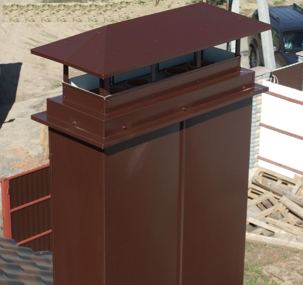Короб для вентиляции на крышу своими руками 91