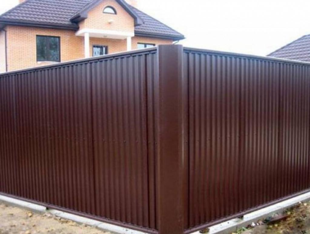 Профлист заборный проектирование парадных ворот