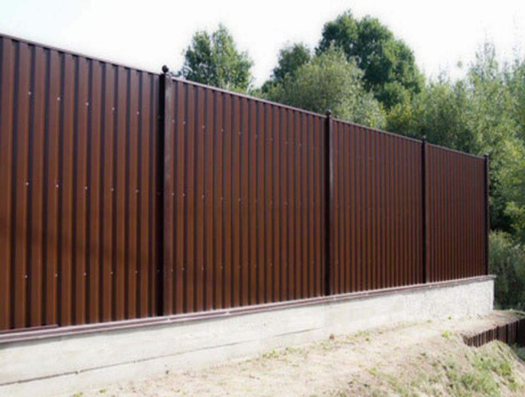 Профлист на забор металлический штакетник таганрог