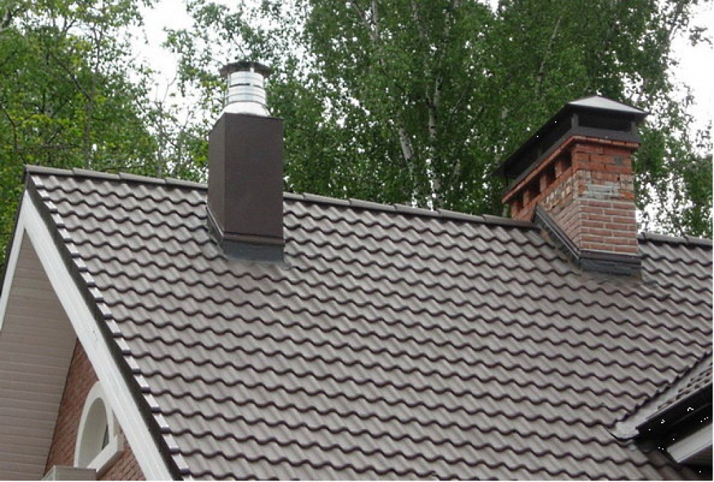 Колпак дымохода в частном доме система дымохода каминов