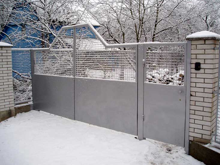 Купить дачные сварные ворота ворота для дачи монтаж
